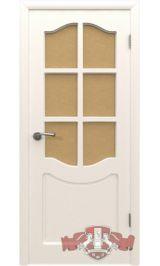 Классика 2ДР0 (белая эмаль) межкомнатная дверь