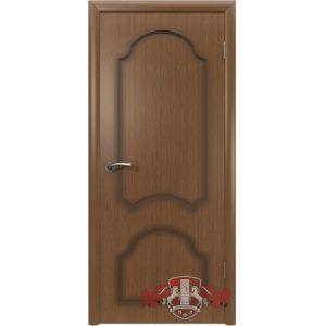 Кристалл 3ДГ3 (орех) межкомнатная дверь