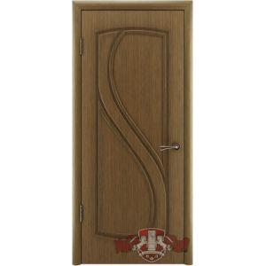 Грация 10ДГ3 (орех) межкомнатная дверь