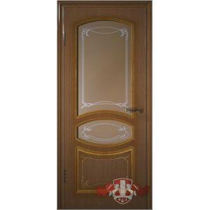 Версаль 13ДР3 (орех) межкомнатная дверь