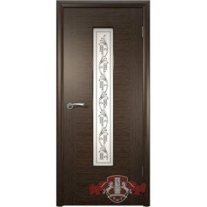 Рондо 8ДО4 (венге) межкомнатная дверь