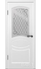 Родена ДО (белая эмаль) межкомнатная дверь (под заказ)