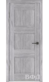 Clasic 3 (С3ПГ2) глухая серый дуб межкомнатная дверь
