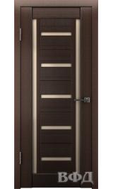 LINE 14 ( Л14ПО4) венге стекло бронза межкомнатная дверь