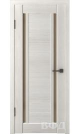 LINE 15 ( Л15ПО5) беленый дуб стекло бронза межкомнатная дверь