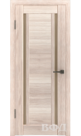 LINE 15 ( Л15ПО1) капучино стекло бронза межкомнатная дверь