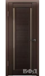 LINE 15 ( Л15ПО4) венге стекло бронза межкомнатная дверь