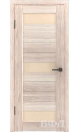 LINE 5 ( Л5ПО1) капучино стекло бежевое межкомнатная дверь