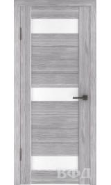 LINE 5 ( Л5ПО2) серый дуб стекло белое межкомнатная дверь