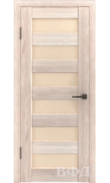 LINE 7 ( Л7ПО1) капучино стекло бежевое межкомнатная дверь
