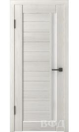 LINE 9 ( Л9ПО5) беленый дуб стекло белое межкомнатная дверь