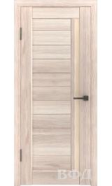 LINE 9 ( Л9ПО1) капучино стекло бежевое межкомнатная дверь