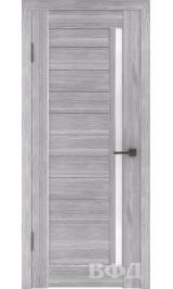 LINE 9 ( Л9ПО2) серый дуб стекло белое межкомнатная дверь