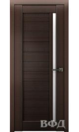 LINE 9 ( Л9ПО4) венге стекло белое межкомнатная дверь
