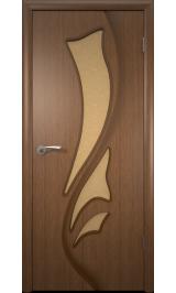 Лилия ДО (орех) межкомнатная дверь