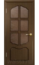 Классика ДО (орех) межкомнатная дверь
