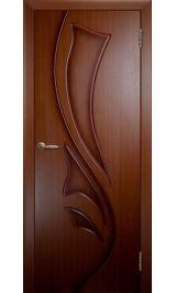 Лилия ДГ (красное дерево) межкомнатная дверь