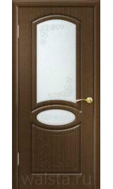 Муза ДО (орех) межкомнатная дверь (Распродажа)