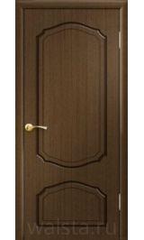 Кристалл ДГ (орех) межкомнатная дверь