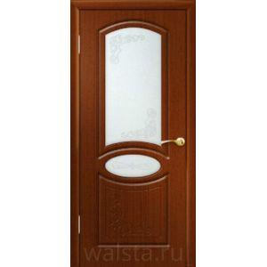 Муза ДО (красное дерево) межкомнатная дверь