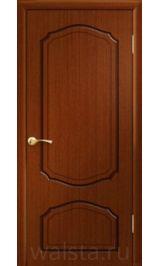 Кристалл ДГ (красное дерево) межкомнатная дверь