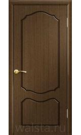 Классика ДГ (орех) межкомнатная дверь