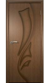 Лилия ДГ (орех) межкомнатная дверь
