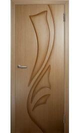 Лилия ДГ (светлый дуб) межкомнатная дверь