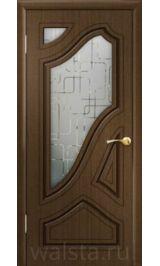 Бабочка ДО (орех) межкомнатная дверь (Распродажа)