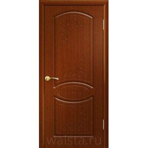 Муза ДГ (красное дерево) межкомнатная дверь
