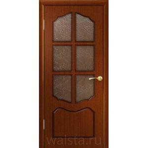 Классика ДО (красное дерево) межкомнатная дверь
