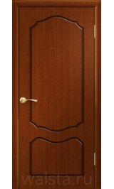 Классика ДГ (красное дерево) межкомнатная дверь