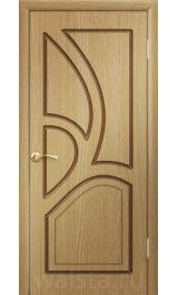 Греция ДГ (светлый дуб) межкомнатная дверь