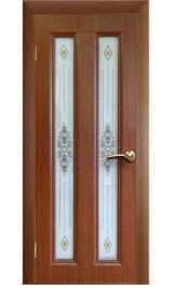 Екатерина 2 ДО темный дуб межкомнатная дверь (Остатки)