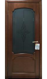 ИРИДА ДО межкомнатная дверь из массива сосны (Витрина)