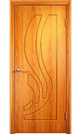 GLSigma-81 ДГ худ.матирование (миланский орех)  межкомнатная дверь