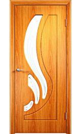 Лиана ДО (миланский орех) межкомнатная дверь (Витрина)