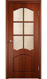 Лидия ДО (итальянский орех) межкомнатная дверь (Витрина)
