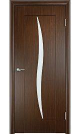 Силуэт (венге) межкомнатная дверь