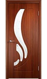 GLSigma-82 ДО худ.матирование (итальянский орех) межкомнатная дверь