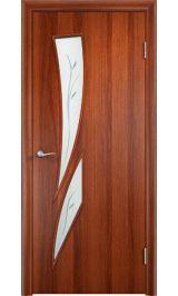 4Ф13 фьюзинг (итальянский орех) межкомнатная дверь