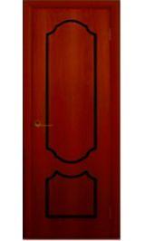 Венеция глухая (итальянский орех) межкомнатная дверь