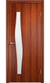 Волна ПО (итальянский орех) межкомнатная дверь