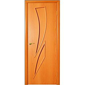 с-2, глухая (миланский орех) межкомнатная дверь