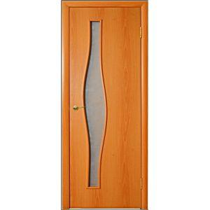 ПО волна (миланский орех) межкомнатная дверь