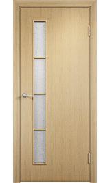 Гамма ПО (беленый дуб) межкомнатная дверь