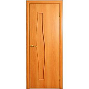 4Г6 глухая (миланский орех) межкомнатная дверь