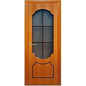 Венеция стекло (миланский орех) межкомнатная дверь