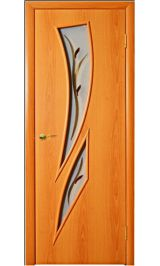 с-2ф стекло (миланский орех) межкомнатная дверь
