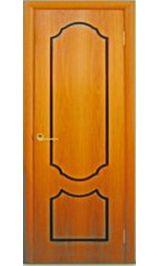 Венеция глухая (миланский орех) межкомнатная дверь